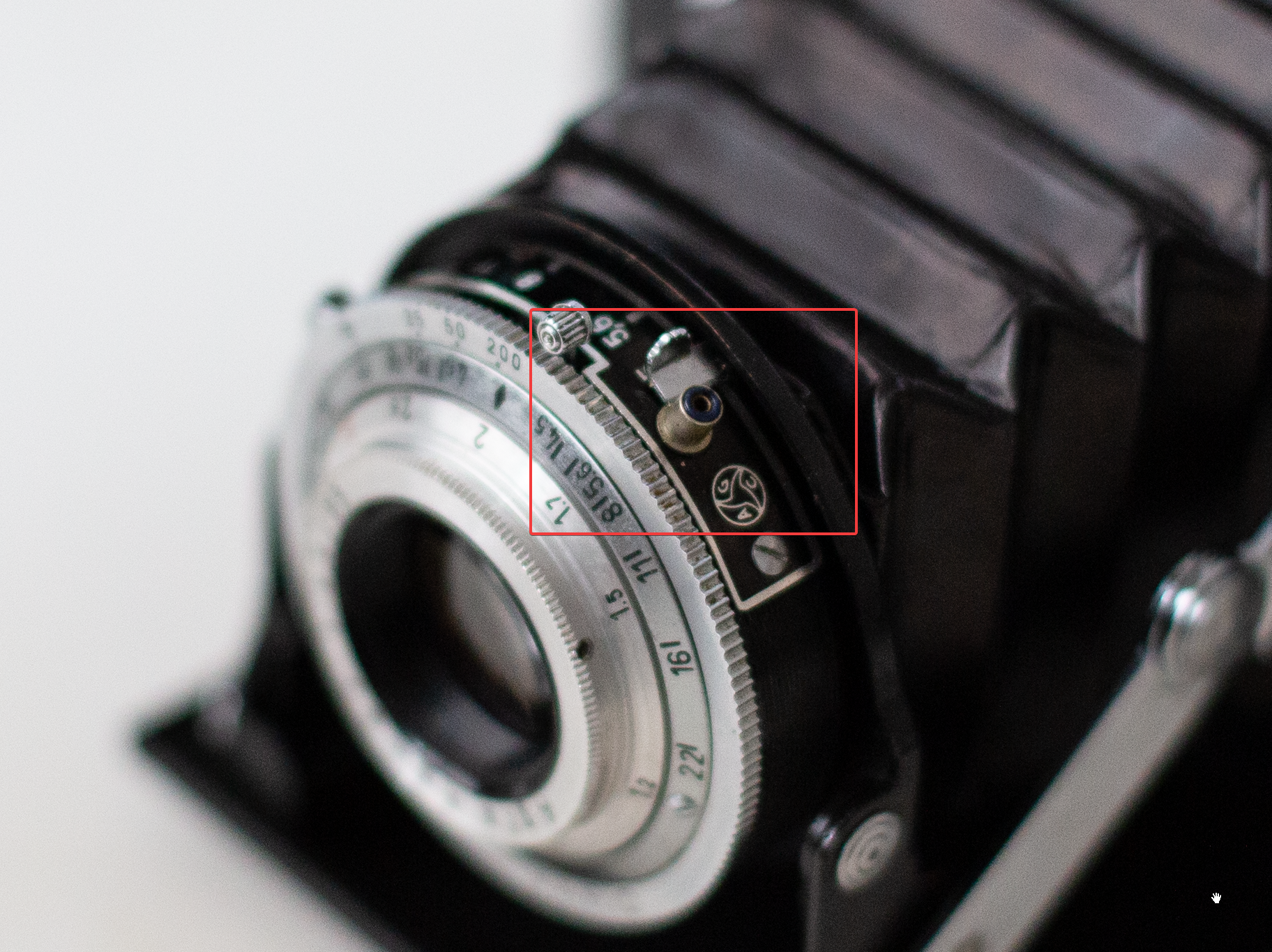 AGFA Isolette I conector flash